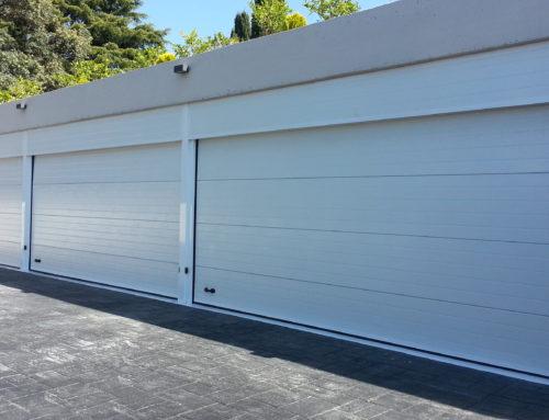 Instalación conjunto puertas de garaje en Alcobendas Madrid